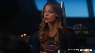 Supergirl 2x16 Kara eat dinner with Mon el family