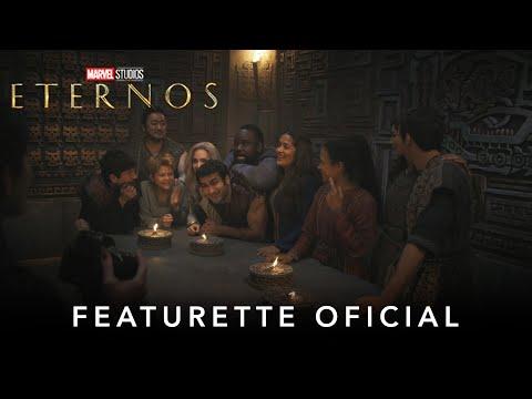 Eternos   Marvel Studios   Featurette Oficial Legendado