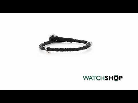 Icon Brand Jewellery Men's Silver Plated Rebel Heritage Lys Bracelet (RH008-BR-SIL)