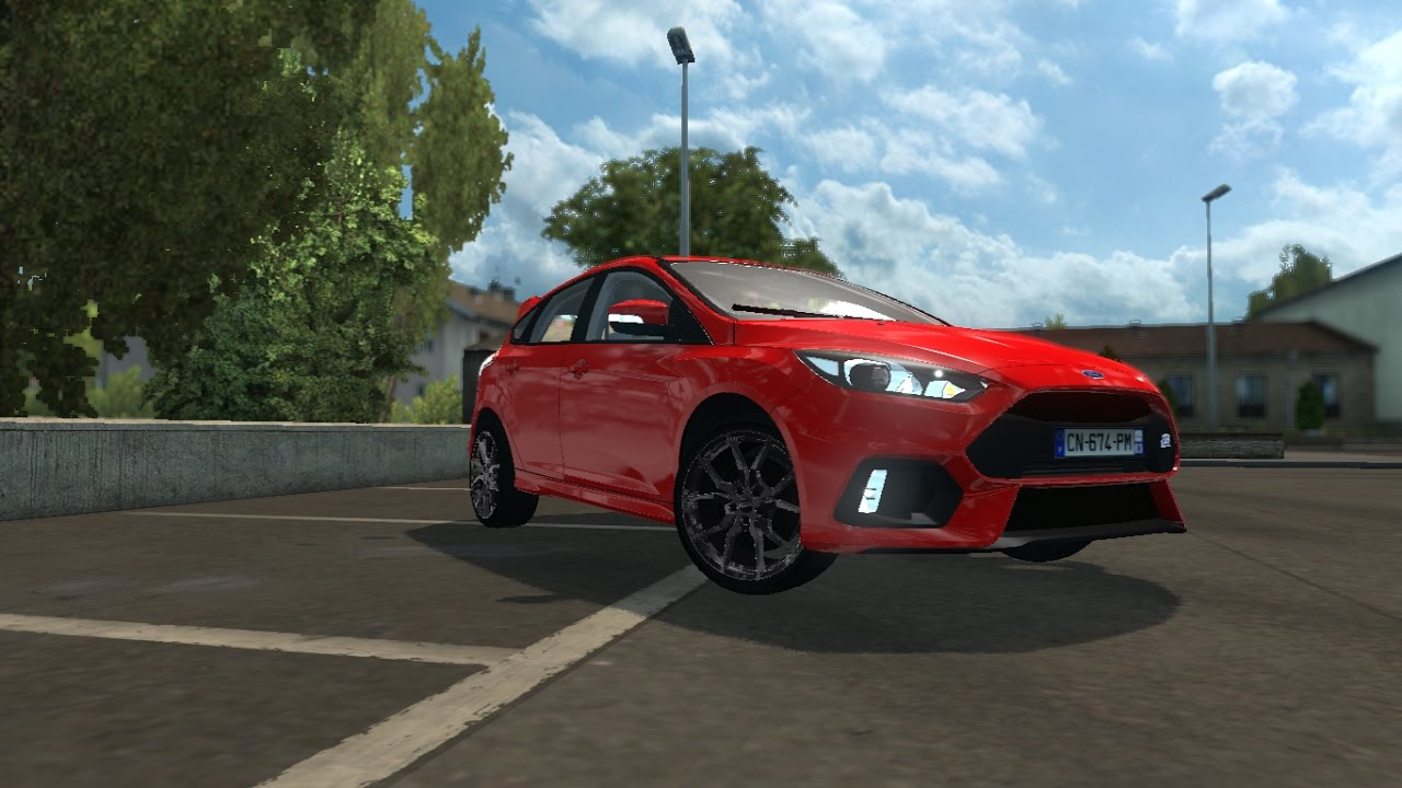 euro truck simulator 2 mods ford focus rs 2017. Black Bedroom Furniture Sets. Home Design Ideas
