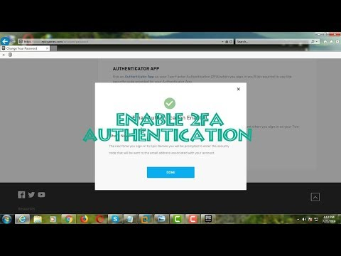 How to Enable Two-Factor Authentication in Epic Games [Fortnite]