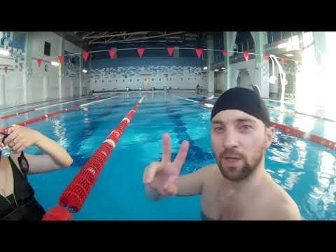 Бассейн 25 под водой легко