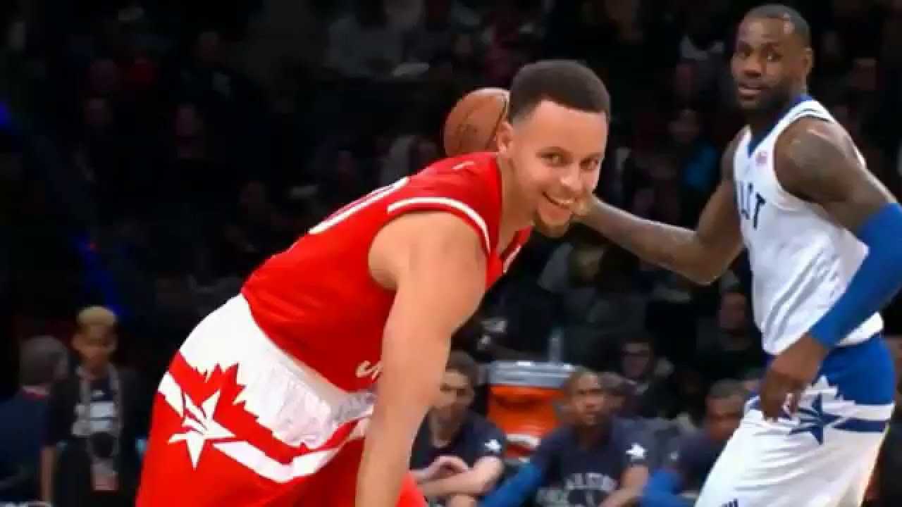 bd1ddd002d8 Steph Curry DUNK in the 2016 All-Star Game - YouTube