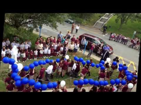 All Saints Regional Catholic School Balloon Rosary 2014