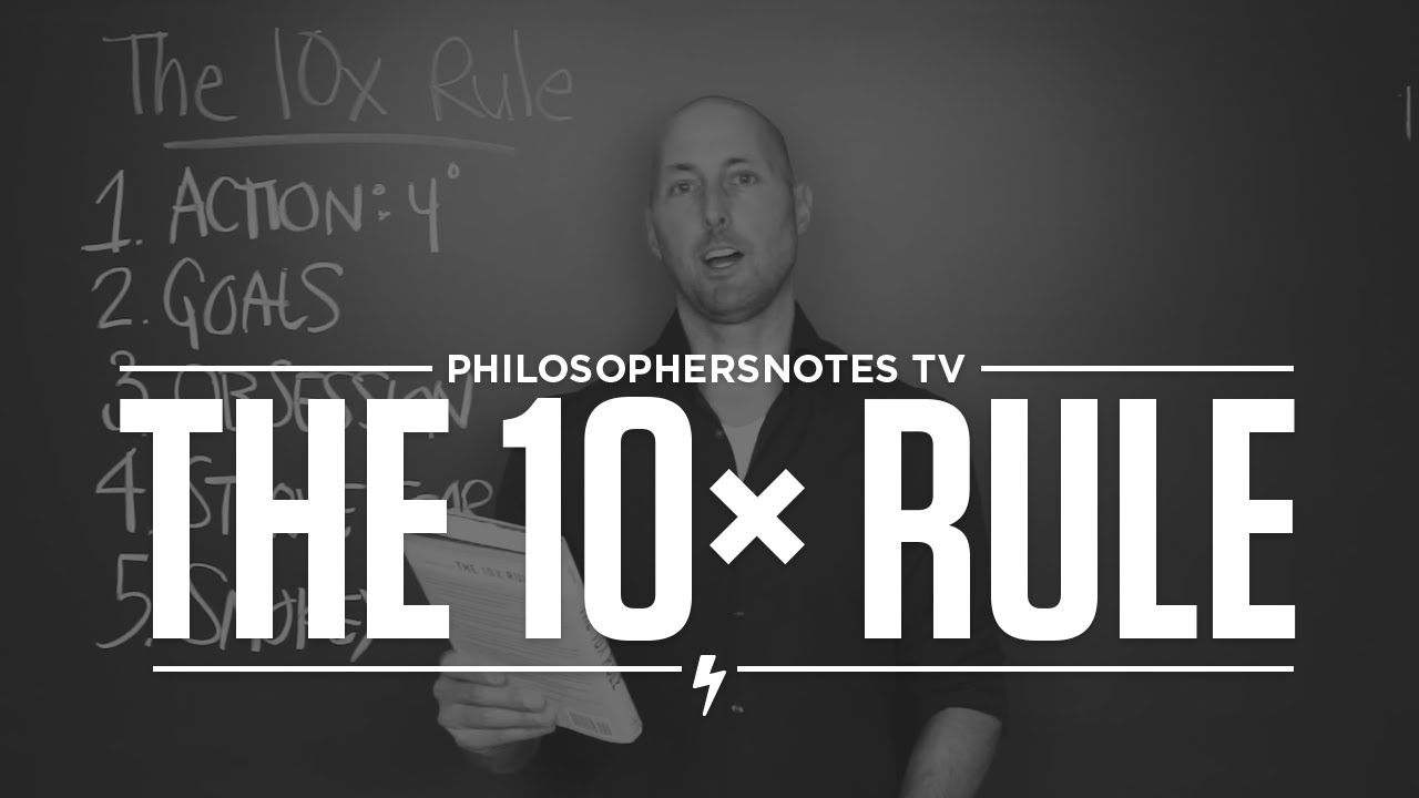 The 10X Rule by Grant Cardone - YouTube