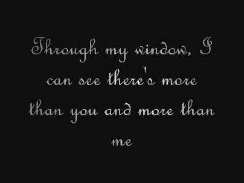 Bunkface - Through My Window (lyrics)