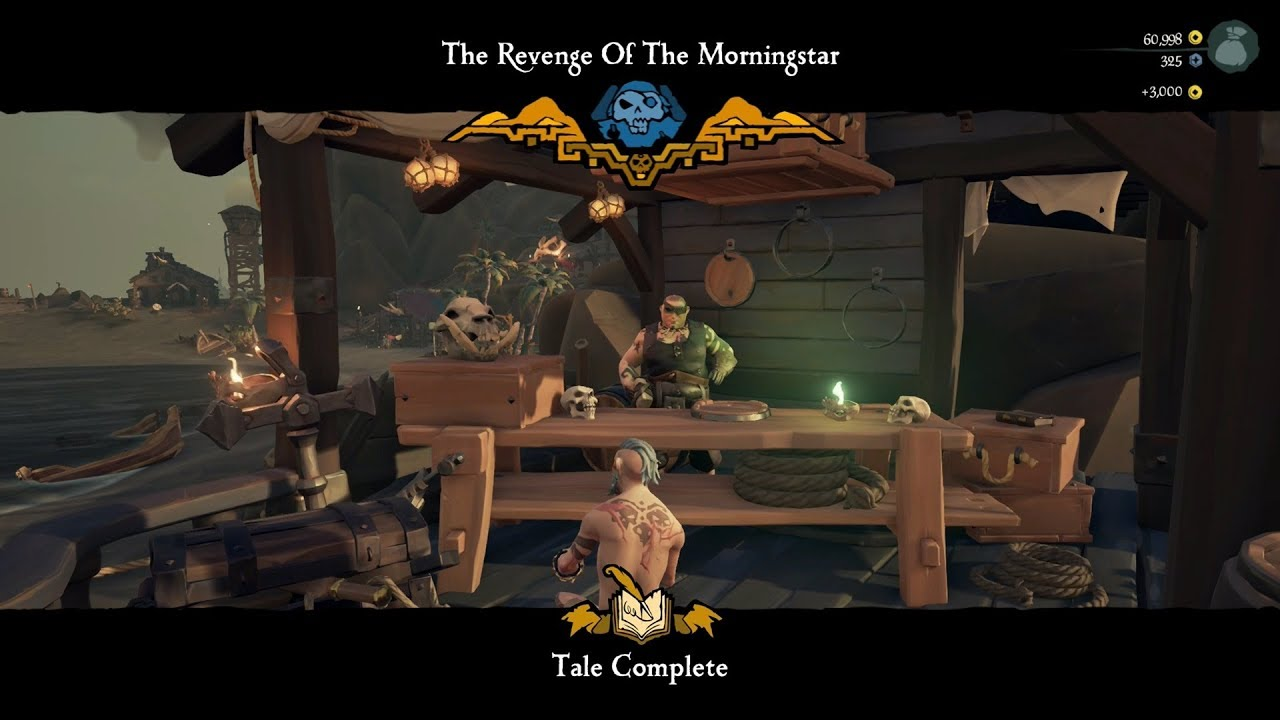 Revenge of The Morningstar - Tall Tales - Sea Of Thieves - Tale #8