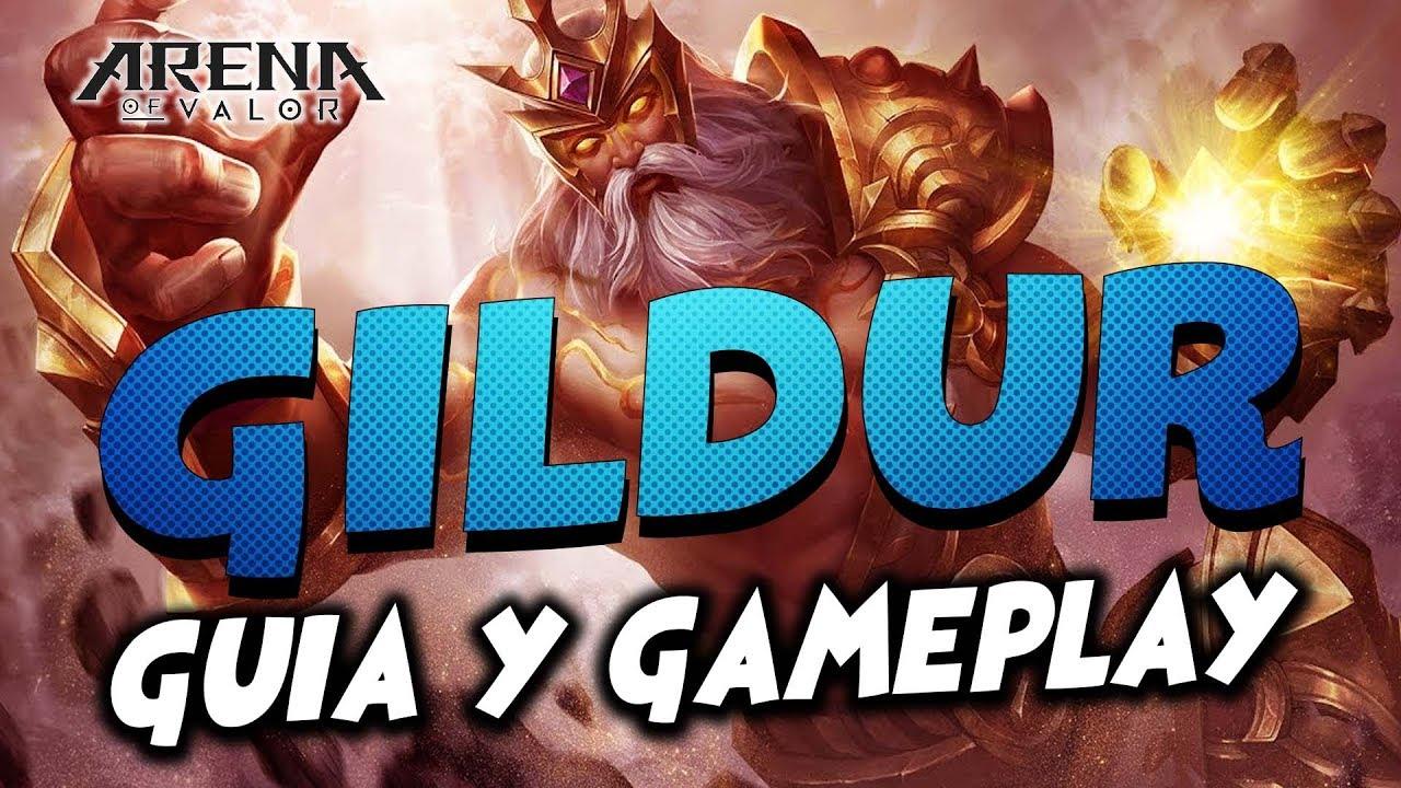 Arena of valor VALHEIN Guia y Gameplay ARCANAS Y TOP BUILD