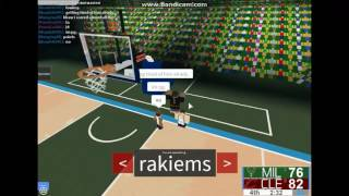 [TSC ROBLOX] NBL Round 1 Eastern Conference Milwaukee Bucks vs Cleveland Cavaliers1