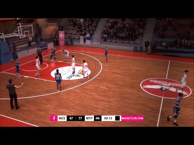 J16 LFB : Nice - Montpellier (Coralie Cadario Highlights)