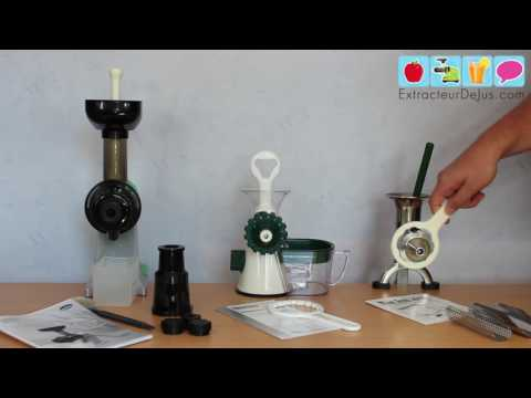 Comparatif d'extracteurs de jus manuels : ZStar 710, Healthy Juicer et BL30 [Vidéo 3/4]