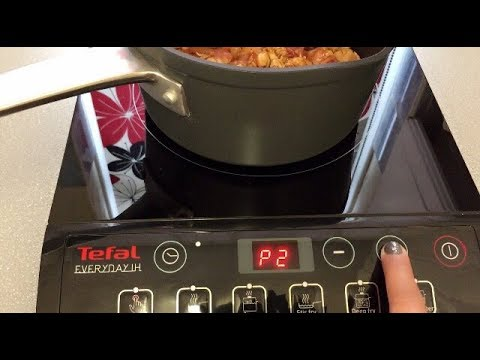 Tefal Induction Hob Cooker Unboxing