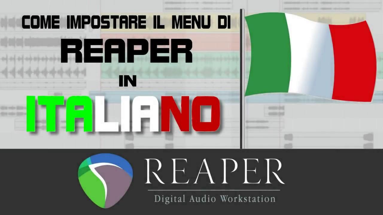 reaper versione italiano