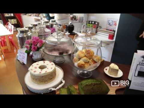 Sinmei Tea Cafe Tea House Brisbane for Matcha Drink and Cakes