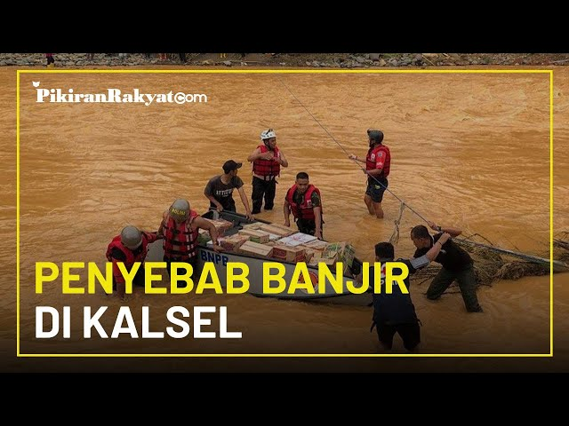 Ungkap Penyebab Banjir di Kalimantan Selatan, Lapan: Adanya Penyempitan Kawasan Hutan