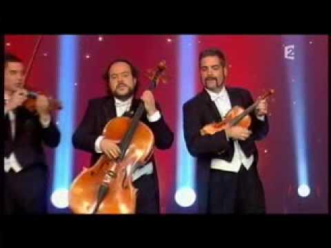 CANON de PAgagNINI en 'Le plus grand cabaret du Monde' de TVFrance 2