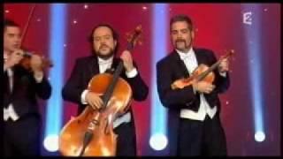 """CANON de PAgagNINI en """"Le plus grand cabaret du Monde"""" de TVFrance 2"""