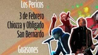 LOS PERICOS EN EL ROCK & ARENA 2012