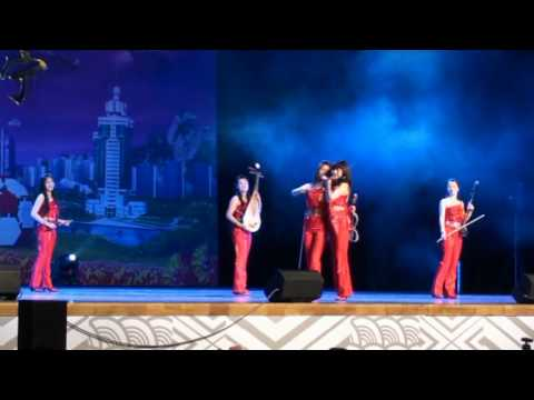 World Expo 2010 in Shanghai -  A performance at Bao Steel Stage