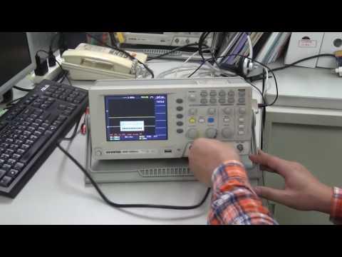 Review máy hiện sóng số Gwintex GDS1000CAL