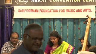 Sampoornam Foundations For Music and Arts -Amrutha Venkatesh Vocal
