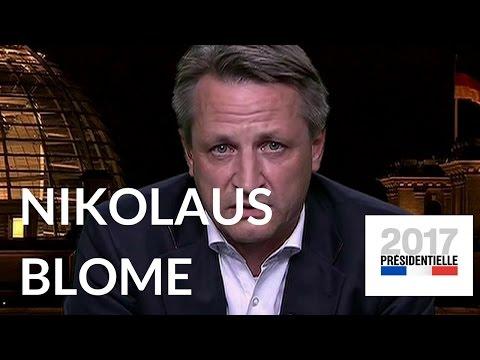 """Nikolaus Blome dans """"L'Emission politique"""". Spéciale présidentielle – 4 mai 2017 (France 2)"""