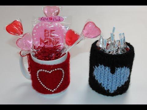 Diy Valentine S Day Gift Idea Cozy Mug Sweater Youtube