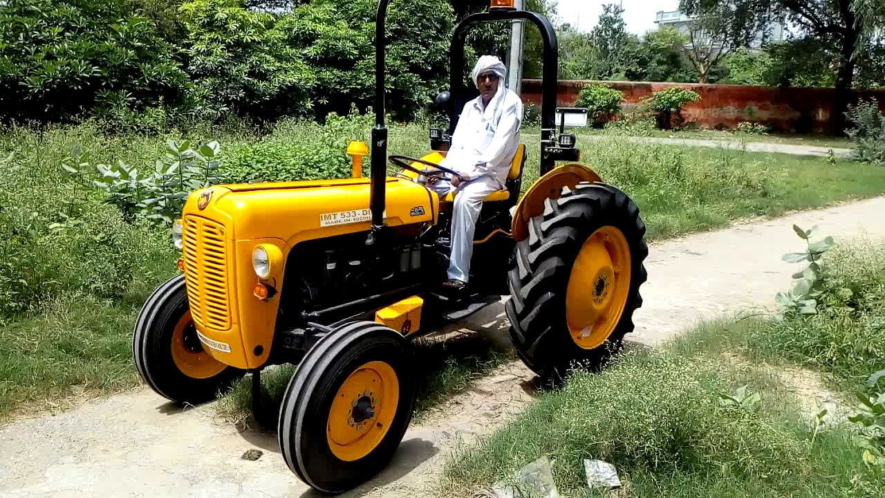 Massey IMT 533 tractor review modified By Sanjay in Gohana