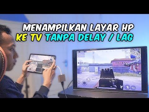 Trik BARU 🔥 Cara Mudah Tampilkan HP Ke Layar TV 🔴 (Tanpa HDMI Dongle, Tanpa MHL & Tanpa SMART TV).