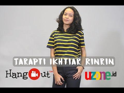 Tarapti Ikhtiar Rinrin - Rindu Sendiri (ost Dilan 1990) Live At Uzone.id