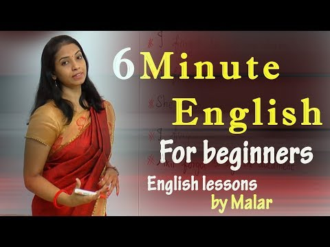 6 minute English for the beginners - Learn English with Kaizen through Tamil