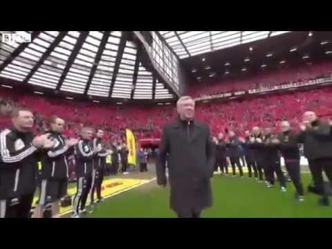 Sir Alex Ferguson last game at Old Trafford