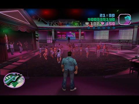 Grand Theft Auto Vice City - Végigjátszás [Új] - 35.rész - A Malibu klub és annak emberei!