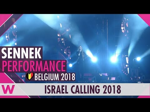 "Sennek ""A Matter of Time"" (Belgium 2018) LIVE @ Israel Calling 2018"