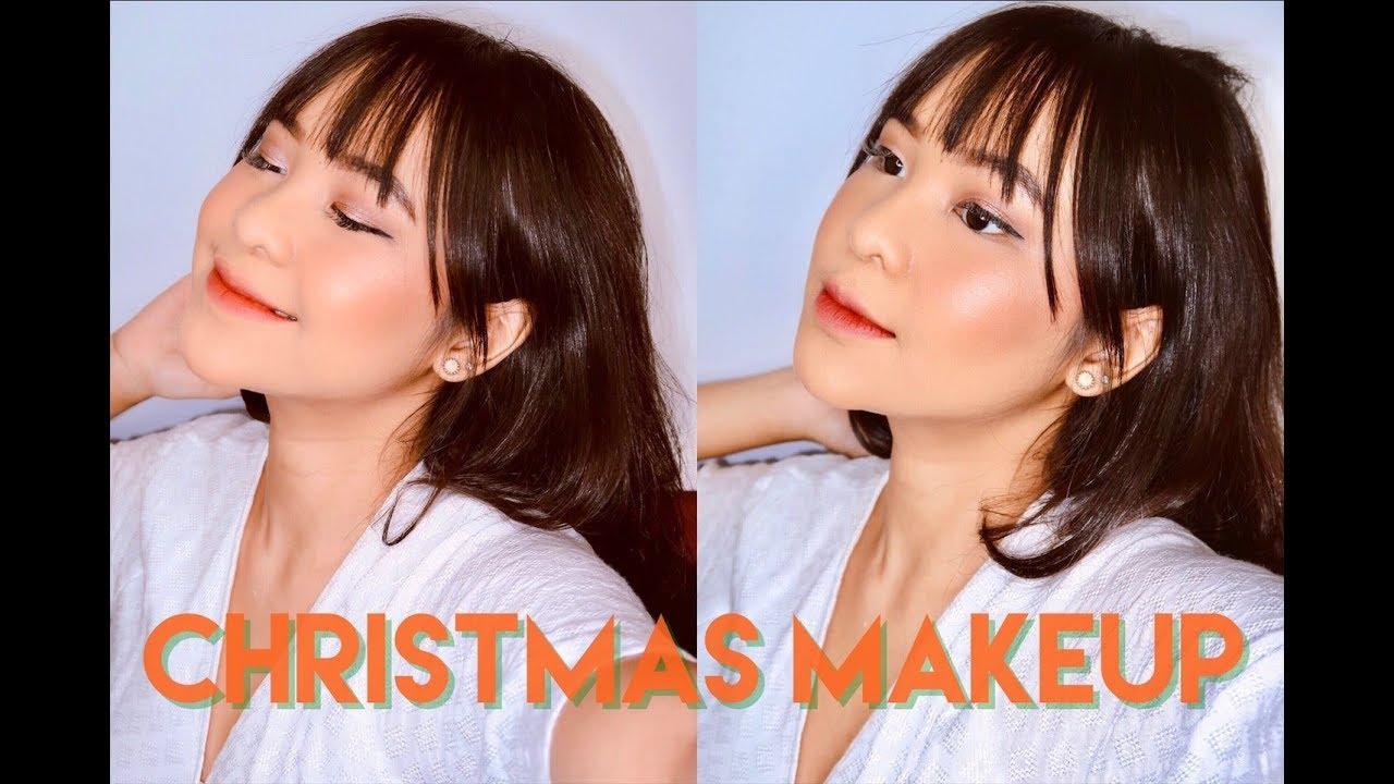 Easy \u0026 Simple Christmas Makeup Tutorial