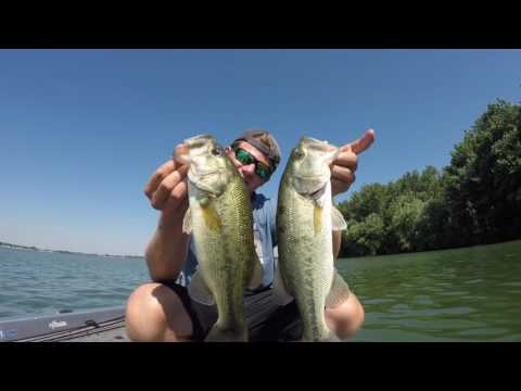 Bass Fishing Backwaters Of Lake Erie