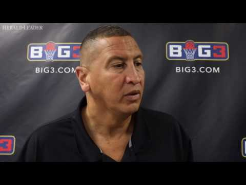 Sam Bowie drops in at Rupp Arena to watch former NBA teammates in BIG3 tournament