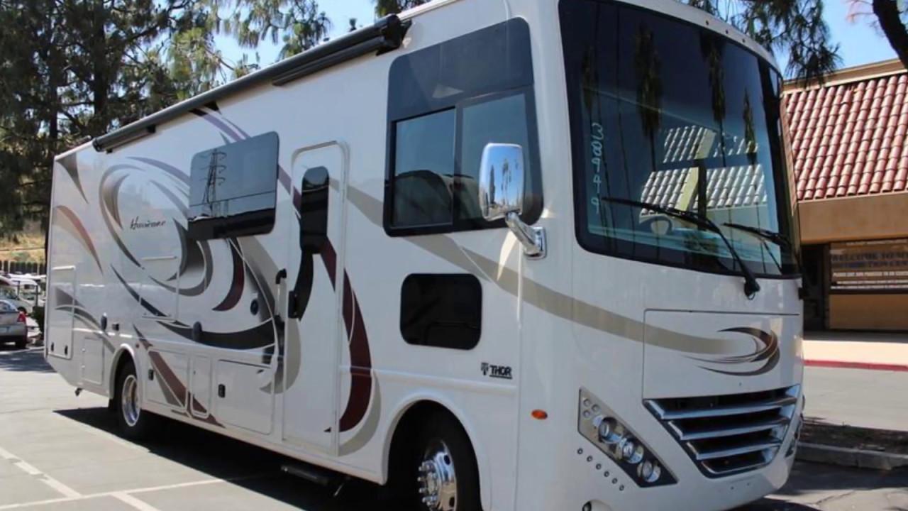 New 2018 thor motor coach hurricane 29m motorhome for sale for Thor motor coach hurricane