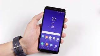 Trên tay Samsung Galaxy J6 2018 chính hãng đầu tiên ở Việt Nam