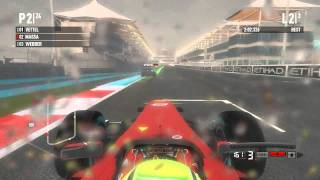F1 2011 PC Gameplay Abu Dhabi Grand Prix