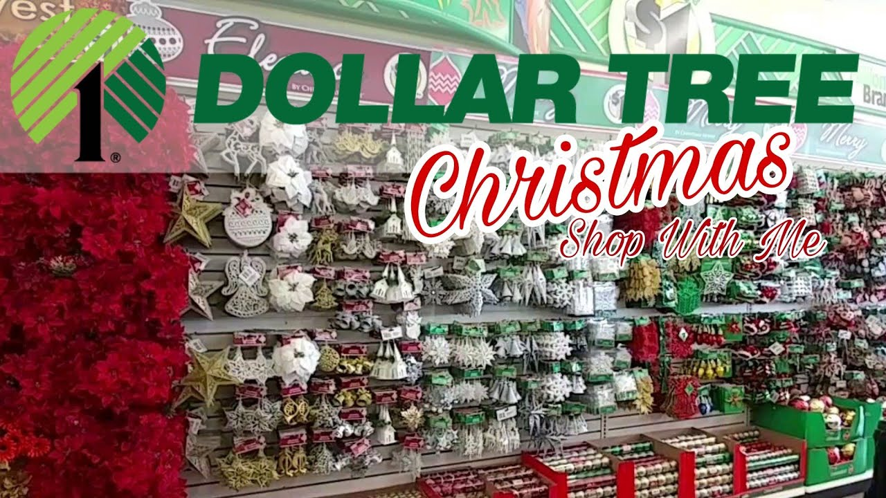 Dollar Tree Christmas Shop With Me | New In Store - YouTube