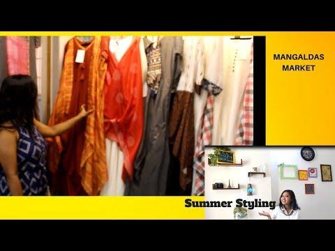 Mangaldas market|Summer Styling|Buget shopping|Arushi Patkey