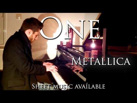 Metallica - One - Full piano cover (Arr. Yannick Streibert) w/ sheet music