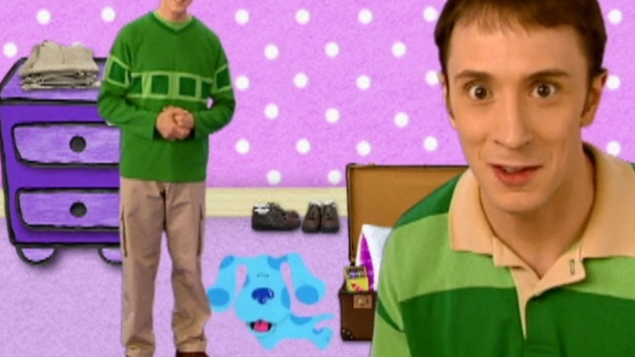 Blues Clues Steve Goes To College Youtube