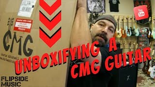 CMG Guitars Ashlee Unboxing.  USA made under $850 shipped!