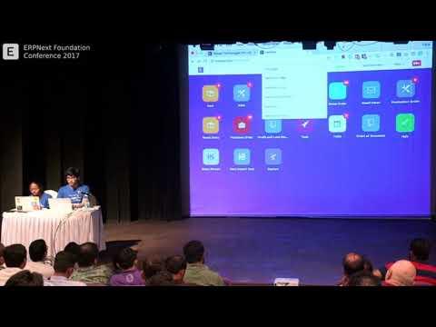 Faris Ansari - Frappe UI, Creating Dashboard and Reports