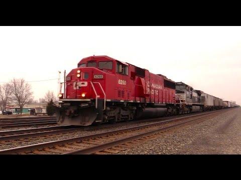 Springtime Trains of Northwest Ohio (No Narration)