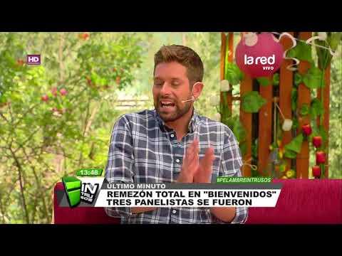 """¡Terremoto en Canal 13! Despiden a 3 rostros de """"Bienvenidos"""""""