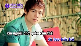 [ Karaoke HD ] Trách Ai Vô Tình - Lưu Chí Vỹ Full Beat ✔