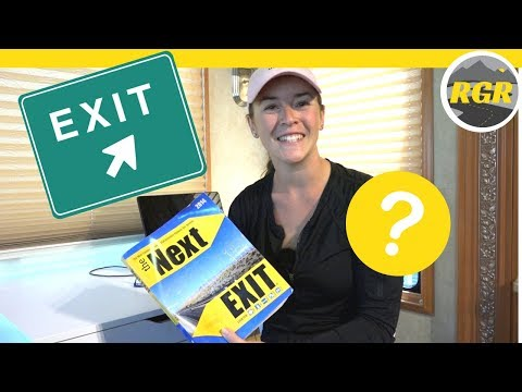 The Next Exit by Mark Watson | Product Review | Guide of USA Interstate Highway Exit Services